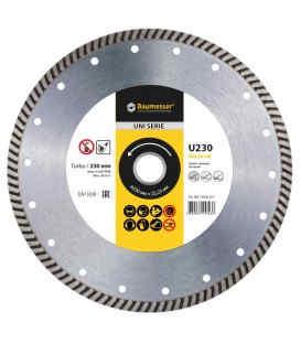Діамантовий диск по бетону Baumesser Turbo Universal 230x22.2 (90215129017)