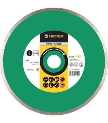 Алмазный отрезной круг по граниту Baumesser Stein Pro 1A1R 230x1,8x8,5x25,4 (91320496017)