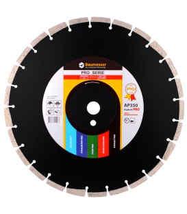 Алмазный отрезной круг по асфальту Baumesser 1A1RSS/C3 350x3,5/2,5x10x25,4-11,5-24 HIT Asphalt Pro (94320005024)