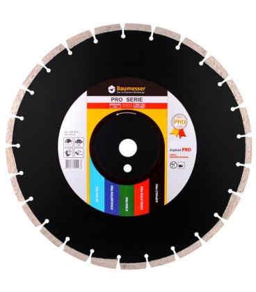 Алмазный отрезной круг по асфальту Baumesser 1A1RSS/C2 500x4,0/3,0x15x25,4-11,5-36 HIT Asphalt Pro (94220005031)