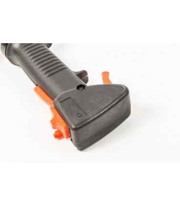 Ручка газа (красная) для бензиновой косы серии 40 - 51 см, куб (0910)