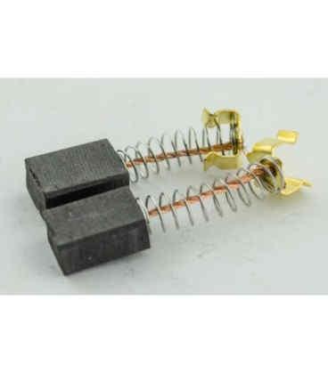 Щётки 6х9х12 П-образный пятак с защёлками для электроинструмента (2527) Tiger