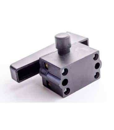 Кнопка для болгарки 230 ( 12 A ) большой фиксатор для электропилы (2933) Tiger