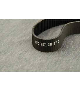 Ремень ЗМ - 267 - 3М - 17Q ( 104 зубчатый ) для электроинструмента (2168) Tiger