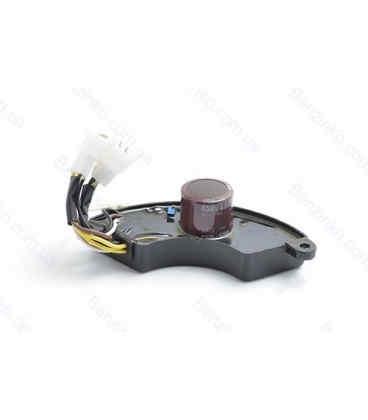 AVR (3 фазы) реле напряжения генератора 5 кВт (диодный мост) ДУГА (0243)