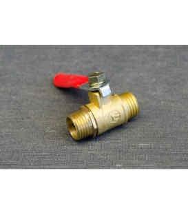 Кран клапан шариковый (резба наружная) для компрессора (1623) Tiger