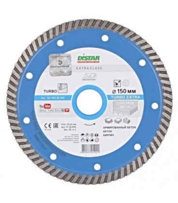Алмазний диск Distar Turbo Extra 150 x 22,23 (101 150 28 012)