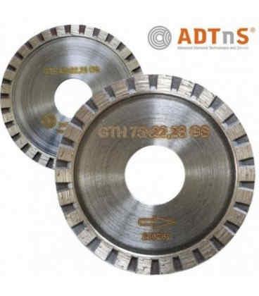 Алмазный отрезной круг ADTnS DBD 1A1R Turbo 65x3x7x22.2 Granite GTH (30215044001)