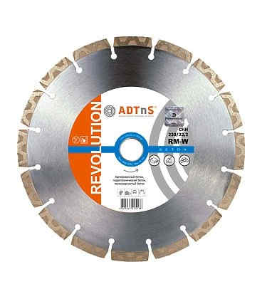 Диск алмазний по бетону ADTnS 150x22,23 CHH RM-W (34315066012)