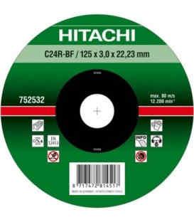 Круг отрезнойHitachi 115 х 3 х 22.2 мм ( 752541 )
