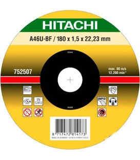 Круг отрезнойHitachi180 х 1.5 х 22.2 мм ( 752507 )