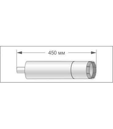 Алмазная коронка модульного типа ADTnS 122x450-10x1 1/4 UNC RM5 (38203065090)