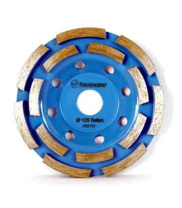 Алмазна чашка (фреза) Baumesser ФАТ-С125/22,23x14 Beton (97015007010)