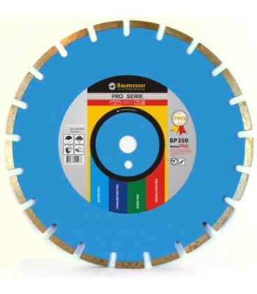 Алмазний відрізний круг по бетону Baumesser 1A1RSS/C3 230x2,6/1,8x10x22,23-16 HIT Beton PRO (94315008017)