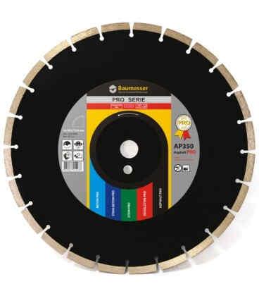 Алмазный отрезной круг по асфальту Baumesser 1A1RSS/C3 300x3,2/2,2x10x25,4-11,5-22 HIT Asphalt Pro (94320005022)
