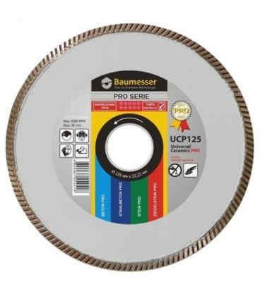 Алмазный отрезной круг по керамограниту Baumesser 1A1R 125x1,8x5x22,23 Universal Pro (91315018010)